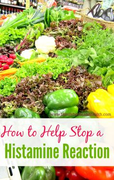 How to Stop a Histamine Reaction Are you having trouble with histamine intolerance? Need some help to calm down a histamine reaction? Here are some tips to help your liver and calm down histamine reactions. - Another! Natural Medicine, Herbal Medicine, Get Healthy, Healthy Tips, Healthy Food, Low Histamine Foods, Lemon Benefits, Rosacea, Food Allergies