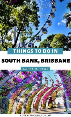 Looking for an awesome getaway in Australia? Click here to find out the best things to do in South Bank Brisbane, Australia that will have you booking a trip today! I things to do in Australia I where… More Perth, Brisbane Australia, Visit Australia, Melbourne, Sydney, Australia Destinations, Australia Travel Guide, Family Road Trips, Family Travel