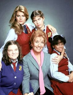 """The Facts of Life"" is an American sitcom that originally ran on NBC from August 24, 1979 to May 7, 1988. A spin-off of the sitcom ""Diff'rent Strokes,"" the series' premise focused on Edna Garrett (Charlotte Rae) as she becomes a housemother (and after the second season, dietitian as well) at the fictional Eastland School, an all-female boarding school in Peekskill, New York."