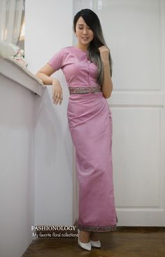 Pink_V Myanmar outfit