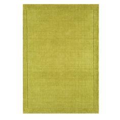 Debenhams Lime Green Wool York Rug