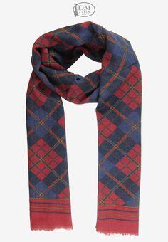 0SCZZ16a - Sciarpa lana rosso - Sciarpe UOMO - Sciarpe Uomo/Donna