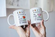 Resultado de imagen de tazas personalizadas a mano