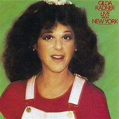 Gilda Susan Radner, American comedian, actress, best known as one of the original cast members of the NBC sketch comedy show Saturday Night Live, for which she won an Emmy Award, wife of Gene Wilder    1946-89