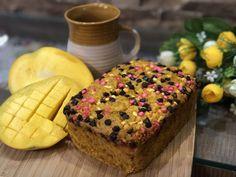Eggless Mango Cake - Summer Delight
