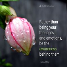 Mindful Living - A Quote by Eckhart Tolle