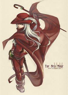 8BT - Red Mage by *rennerei on deviantART (GaymerConnect 2013)
