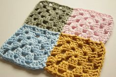 How to join crochet motifs using the Join As You Go (JAYG) technique.