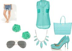 """""""Swimming in the Summer Sea"""" by animelov3r ❤ liked on Polyvore"""