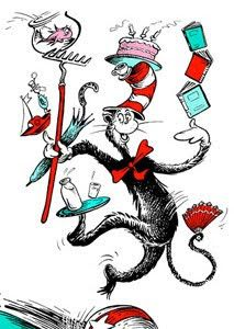 FAMOUS: The Cat in the Hat!