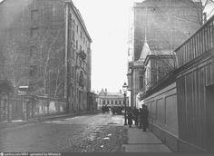 Фотография - Сивцев Вражек - снимок сделан между 1913-1914 годами (направление съемки — юго-запад)