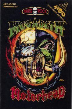 Hard Rock Comics (Revolutionary, 1992) #15 - Megadeth/ Motorhead/ Faith No More