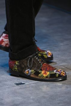 Image result for men's floral shoes