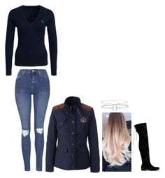 """""""A D D"""" by anniken-ns on Polyvore featuring Topshop, GANT, Nly Shoes, Tiffany & Co., Vahina Tahi, women's clothing, women, female, woman and misses"""