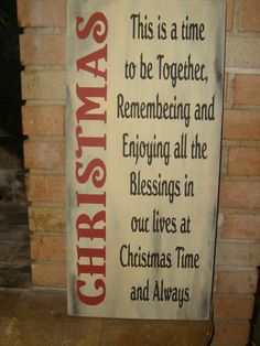 A CHRISTMAS HoLiDaY PriMiTiVe WooD SiGn HoMe DeCor, OlD FaSHionEd, Winter, Snow Ornament via Etsy