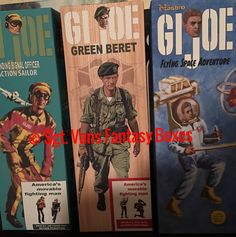 Mark B. Just picked up a great selection  Of Sgt. Van Gi Joe Goodness  LSO , Green Beret and Flying Space Adventure