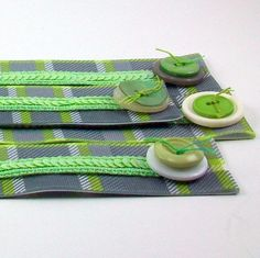 Ribbon bookmarks handmade Promote Reading by scrappuccinostudio, $4.00