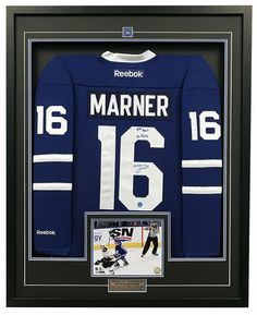 b54df677b70 Legends Sports Memorabilia: Michael Jordan. See more. Mitch Marner Toronto  Maple Leafs Signed & Dated 1st NHL Goal 35x43 Framed Jersey #