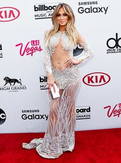 Jennifer Lopez Goes Without Underwear at Billboard Music Awards 2015 - Us Weekly