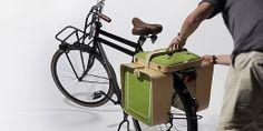 """""""Springtime"""": Picknick-Tisch für's Fahrrad"""