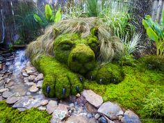 Topiary Moss Ideas Everyone loves nature and all it& finery it has to offer. We sell many different types of live mosses. Topiary treasures are great in a garden, l. Topiary Garden, Garden Art, Garden Design, Moss For Sale, Moss Graffiti, Growing Moss, The Secret Garden, Irish Moss, Garden Stones