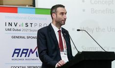 Leading local business law expert, Michael Lane, revealed the 10 reasons why a business should migrate to the UAE at the eighth international B2B conference, InvestPro UAE Dubai 2021. Press Release, Social Platform, Uae, Conference, Investing, Business, Store, Business Illustration