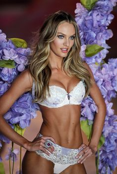Candice Swanepoel at the Victoria's Secret Fashion Show 2012. Kill me now or later for this body!