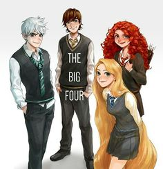 The Big Four at Hogwarts
