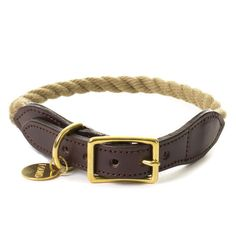 for Earl / Found My Animal - Natural Rope Collar