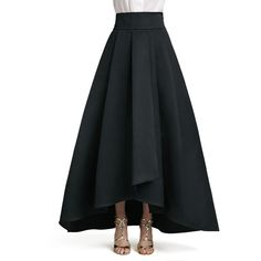 St. John Collection Duchesse Origami Ruffle Gown Skirt ($1,265) ❤ liked on Polyvore featuring skirts, bottoms, dresses, caviar, high waisted skirts, pleated a line skirt, long a line skirt, high waisted long skirt y a line skirt