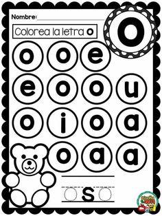 Letter Worksheets, Alphabet Activities, Language Activities, Kindergarten Activities, Educational Activities, Alphabet Books, Preschool Curriculum, Preschool Math, Teaching Babies