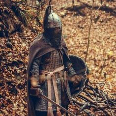 Early medieval west-slavic warrior