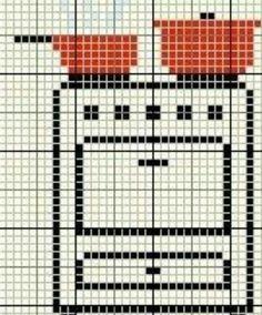 Cross Stitching, Cross Stitch Embroidery, Cross Stitch Patterns, Crochet Patterns, Cross Stitch Kitchen, Simple Cross Stitch, Soft Wallpaper, Joker Wallpapers, Beautiful Nature Wallpaper