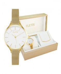 Eletta Kit Vogue Relógio Colar Mulher ELA560LBMGX