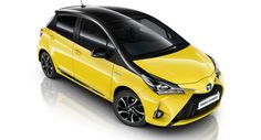 Toyota Yaris Wears Its Bumblebee Suit For UKs New Yellow Edition Chevrolet Spark, Chevrolet Camaro, Chevy, My Ride, Car Insurance, Toyota, Yellow, Vehicles, How To Wear