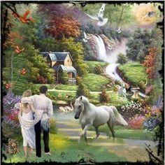 Seven Days of Creation Life In Paradise, Another Day In Paradise, Paradise On Earth, Psalm 133, Jehovah Paradise, Paradise Pictures, Jw Humor, Days Of Creation, Bible Promises