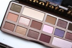 Bamblings of Naffy - First look at the Too Faced Chocolate Bar Palette