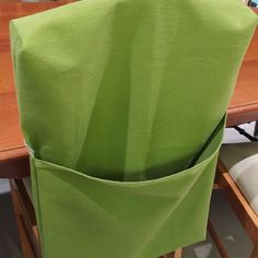 Hoe to Sew a Chair Bag