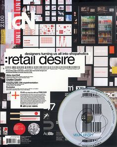 IdN v15n6: Retail Desire — Designers turning us all into shopaholics Art Art director   Artwork Visual Graphic Mixer Composition Communication Typographic Work Digital