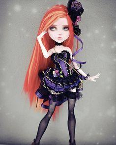 #monsterhigh #monsterhighdoll #monsterhighdolls #ooak #monsterhighooak #doll #dolls #custom #customized #barbie #ooakdoll #faceup #makeup…