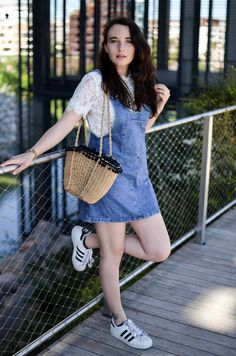 robe salopette ootd look blogger fashion mode blogueuse summer