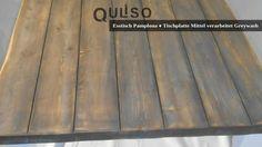 Hardwood Floors, Flooring, Pamplona, Crafts, House Styles, Old Wood, Cottage Chic, Dinner Table, Essen