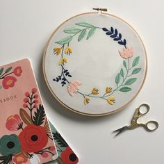 Discover more about Thread Honey and her patterns! Basic Embroidery Stitches, Floral Embroidery Patterns, Modern Embroidery, Embroidery Hoop Art, Tambour Beading, Free Pattern Download, Dmc, Running Stitch, Yarn Crafts