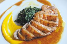 Grondin: If you do miss the dish, and only because I haven't yet sampled the Bourguignon (Pressler promises that longtime patrons have given it their approval), go for the Duck Breast.