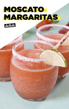 Summery Moscato Margaritas Are Here To Carry You Through This WeatherDelish