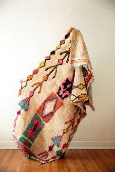 BOWS + ARROWS vintage moroccan rug