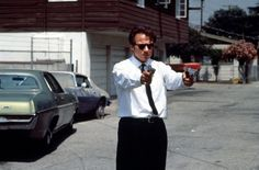 Reservoir Dogs - Harvey Keitel You shoot me in a dream, you better wake up and apologize. Harvey Keitel is Mr. Reservoir Dogs, Cinema Movies, Iconic Movies, 1990s Films, Quentin Tarantino Films, T Movie, Bad Girls Club, Great Films, Movie Characters