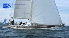 Swan 43. Classic, rigid and fast. A true sailing boat