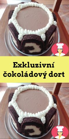 Exkluzivní cokoládový dort Tiramisu, Ethnic Recipes, Food, Essen, Meals, Tiramisu Cake, Yemek, Eten