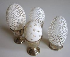 Amazing egg carvings
